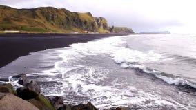 Acqua ghiacciata dell'Islanda archivi video