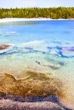 Acqua libera al puntello della baia georgiana immagine stock