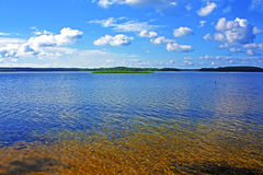 Acqua libera dei laghi Braslav Immagine Stock Libera da Diritti