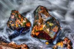 Acqua liscia nel hdr Fotografia Stock Libera da Diritti