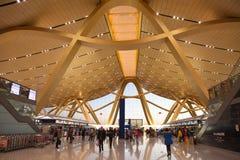 Acqua lunga dell'aeroporto internazionale di Kunming Fotografia Stock Libera da Diritti