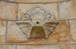 Acqua minerale calda Karlovy Vary Karlsbad - repubblica Ceca Fotografia Stock Libera da Diritti