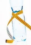 Acqua minerale. Simbolo per la dieta Fotografia Stock Libera da Diritti