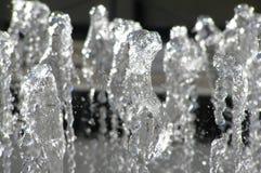 Acqua in modo rinfrescante fredda Immagini Stock Libere da Diritti