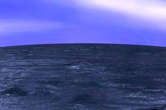 Acqua nell'oceano Fotografia Stock Libera da Diritti