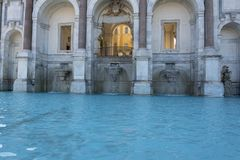 "Acqua Paola της Dell Fontana το ""γνωστό επίσης ως IL Fontanone, η μεγάλη πηγή είναι μια μνημειακή πηγή που βρίσκεται στο λόφο Jan στοκ φωτογραφία με δικαίωμα ελεύθερης χρήσης"