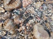 Acqua pietra Montagna Lago naturale immagini stock libere da diritti