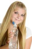 Acqua potabile della ragazza Immagine Stock