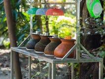 Acqua potabile in Rangoon, Birmania Immagini Stock Libere da Diritti