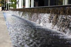 Acqua procedente in sequenza Fotografia Stock