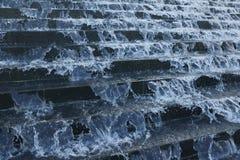 Acqua procedente in sequenza Immagine Stock