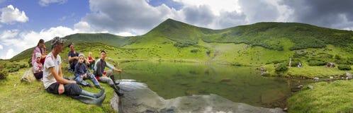 Acqua pulita, alte cime Immagini Stock Libere da Diritti