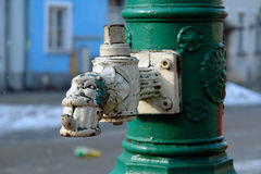Acqua pump-1 Fotografia Stock