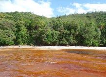 Acqua rossa Fotografia Stock