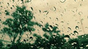 Acqua su vetro Fotografie Stock