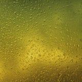 Acqua sui vetri Immagine Stock