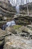 Acqua sulle rocce Immagini Stock