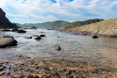 acqua trasparente nel mare Fotografie Stock