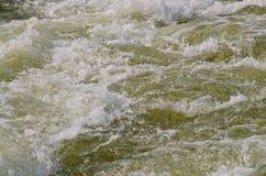 Acqua turbolenta Fotografia Stock