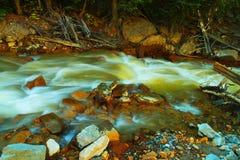 Acqua variopinta Fotografia Stock