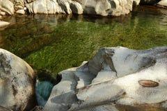 acqua verde Fotografie Stock Libere da Diritti
