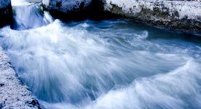 Acqua vetrosa Fotografie Stock