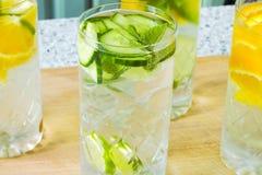 acqua Vitamina-fortificata Fotografia Stock Libera da Diritti