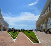 Acquaintance with the city of Sochi Stock Images