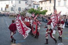 Acquapendente, ITALIEN - 18. Mai 2014, Festa-dei Lizenzfreie Stockfotos