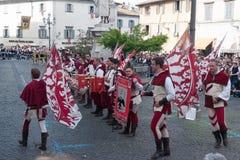 Acquapendente, ITALIEN - 18. Mai 2014, Festa-dei Stockbilder