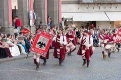 Acquapendente, ITALIEN - 18. Mai 2014, Festa-dei Stockfotos