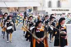 Acquapendente, ITALIEN - 18. Mai 2014, Festa-dei Stockfoto