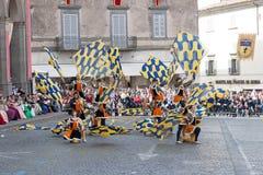 Acquapendente, ITALIEN - 18. Mai 2014, Festa-dei Lizenzfreie Stockbilder