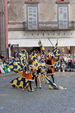 Acquapendente, ITALIEN - 18. Mai 2014, Festa-dei Lizenzfreies Stockfoto