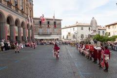 Acquapendente, ITALIEN - 18. Mai 2014, Festa-dei Stockbild