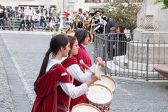 Acquapendente, ITALIEN - 18. Mai 2014, Festa-dei Lizenzfreie Stockfotografie