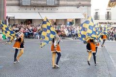 Acquapendente, ITALIEN - 18. Mai 2014, Festa-dei Lizenzfreies Stockbild