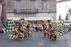 Acquapendente, ITALIEN - 18. Mai 2014, Festa-dei Stockfotografie