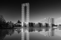 Acquario del John G Edificio di Diefenbaker Fotografia Stock