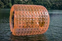 acquatic体育的水路辗 库存图片