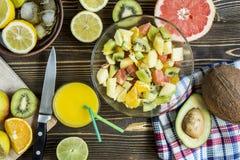 Acquavite di frutta dell'agrume Immagini Stock Libere da Diritti