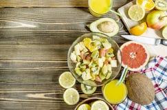 Acquavite di frutta dell'agrume Fotografie Stock Libere da Diritti