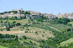 Acquaviva Picena small village on Marche Stock Image