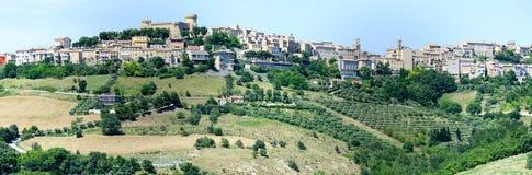 Acquaviva Picena small village on Marche Stock Images