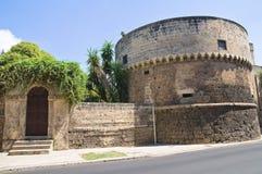 Acquaviva-Schloss. Nardo. Puglia. Italien. Lizenzfreie Stockbilder