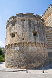 Acquaviva-Schloss. Nardo. Puglia. Italien. Stockbild