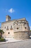 Acquaviva-Schloss. Nardo. Puglia. Italien. Stockfotografie
