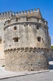 Acquaviva-Schloss. Nardo. Puglia. Italien. Stockfotos