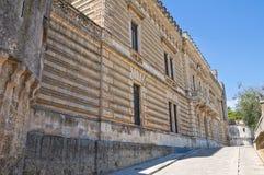 Acquaviva-Schloss. Nardo. Puglia. Italien. Lizenzfreie Stockfotografie