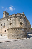 Acquaviva-Schloss. Nardo. Puglia. Italien. Lizenzfreie Stockfotos